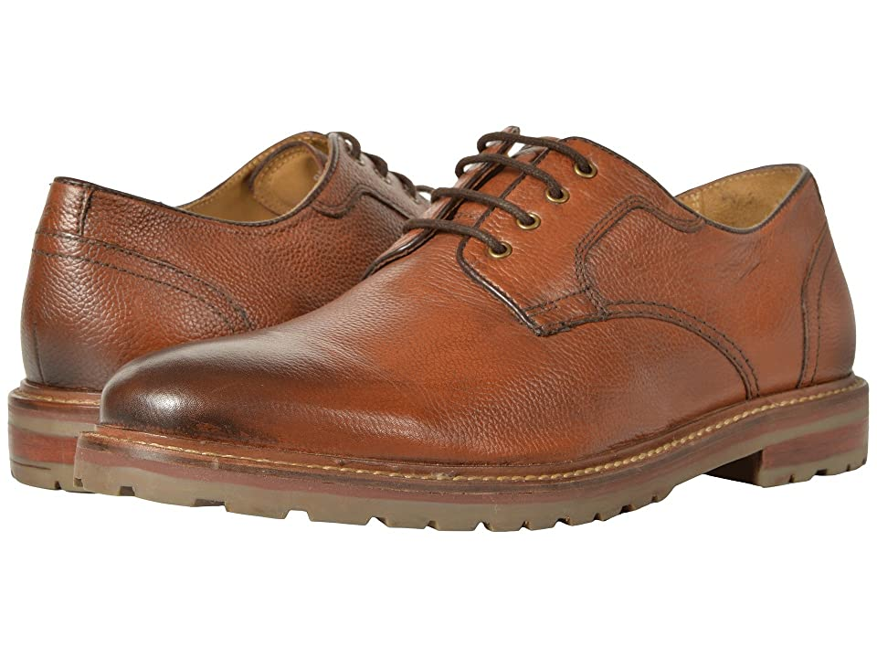 Florsheim Estabrook Plain Toe Oxford (Cognac Milled) Men