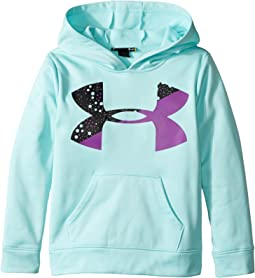 Under Armour Kids - Splatter Big Logo Hoodie (Little Kids)