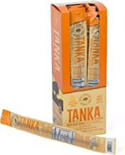 Bison Pemmican Meat Stick with Buffalo & Cranberries By Tanka, Gluten Free, Grass Fed Beef Jerky Alternative, Apple Orange Peel, 1 Oz, Pack Of 12