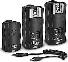 (2 Trigger Pack) Altura Photo Wireless Flash Trigger for Nikon w/Remote Shutter Release (Nikon DF D3100 D3200 D3300 D5100 ...