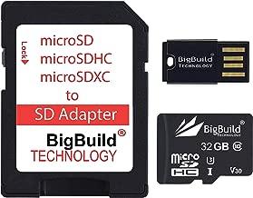 BigBuild Technology 32GB Ultra Fast 100MB s Memory Card For Blackview BV5500  BV5800  BV5800 Pro  BV6800 Pro Mobile  Class MicroSDHC