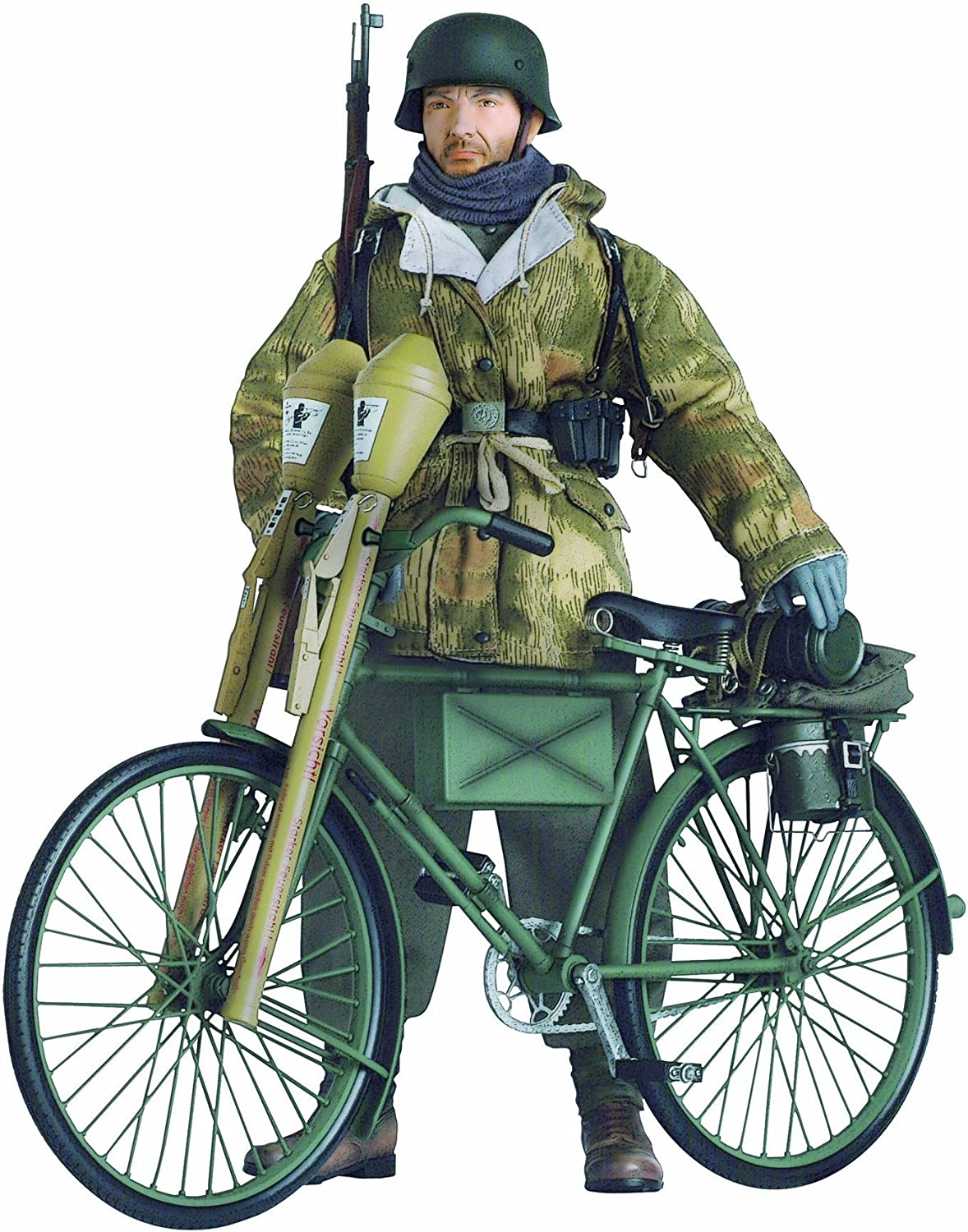 1 6 German WWII Bicycle Kit w Panzerfaust 60