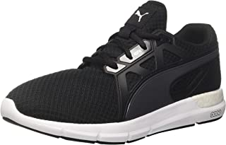 PUMA Men's Dynamo Blk-Asphalt Shoes, Black-Asphalt