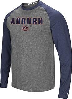 Men's NCAA-Buzzer Beater- Long Sleeve Raglan T-Shirt-Heathered