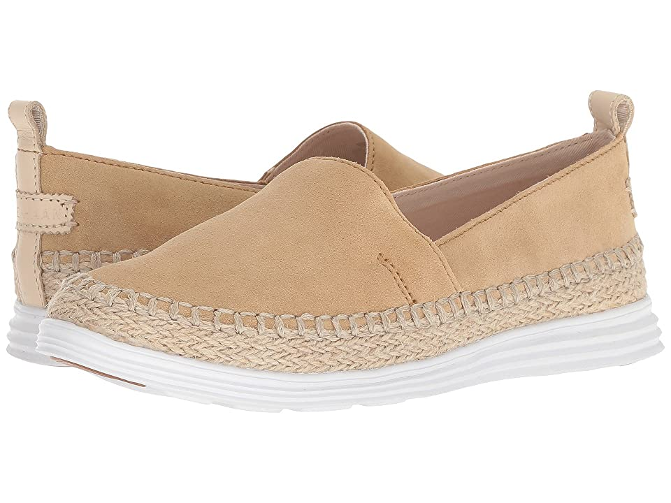 Cole Haan Ella Grand Espadrille II (Iced Coffee Suede/Natural Jute/White) Women