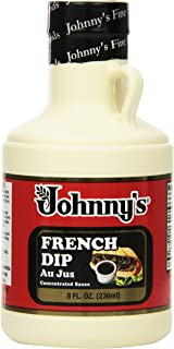 Johnny's French Dip Au Jus Concentrated Sauce, 8 Ounce (Pack of 6)