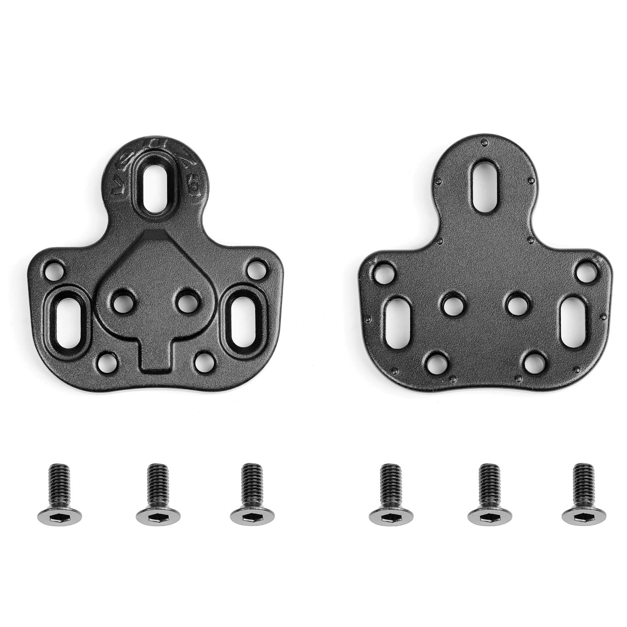 Bicycle Compatible with Shimano SPD Crankbrother 2 Holes Cleats Adapter - Using MTB Type SPD Cleats on Road or Spin Bike Shoes with 3 Holes - Converting Adapters ONLY