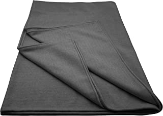 State Cashmere Twin Size Herringbone Blanket Merino Wool Cashmere Soft and Warm Accent Bed Spread Throw • 90 x 60 Inches