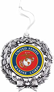 United States Marine Corps Sublimated Wreath Ornament