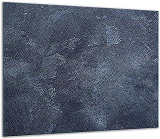 QTA - Placa protectora de vitrocerámica 60 x 52 cm 1 pieza cocina eléctrica universal para inducción protección contra salpicaduras tabla de cortar de vidrio templado como decoración Moderno