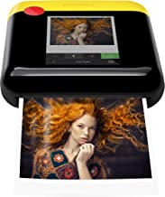 Polaroid WiFi Wireless 3x4 Portable Mobile Photo Printer (Yellow) with LCD Touch Screen, Compatible w/ iOS & Android
