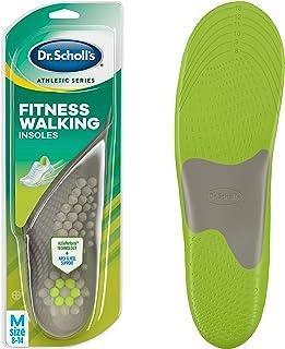 دکتر Scholl's FITNESS WALKING Insoles (مردان 8-14، زنان 6 تا 10) // کاهش استرس و فشار در بدن پایین تر در حالی که شما پیاده روی