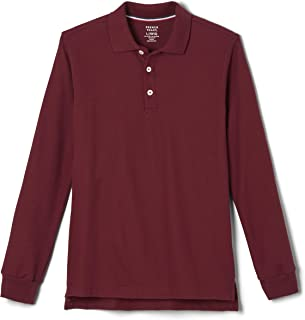 Boys' Long-Sleeve Pique Polo Shirt