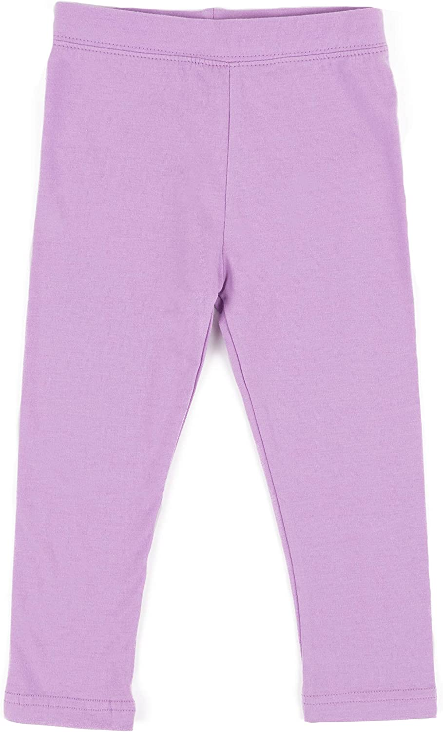 Leveret Girls Legging Cotton Ankle Toddler Pants Kids Length Inexpensive Max 43% OFF