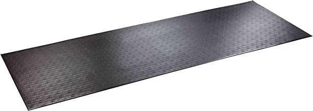 SuperMats High Density Commercial Grade Solid Equipment Mat 29GS Made in U.S.A. for Large Treadmills Ellipticals Rowers Water Rowing Machines (Renewed)