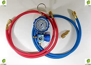 FRUSTA TUBO FLESSIBILE 1//4 F x 1//4 F GAS REFRIGERANTE R407C R134A R22 R404A ECC