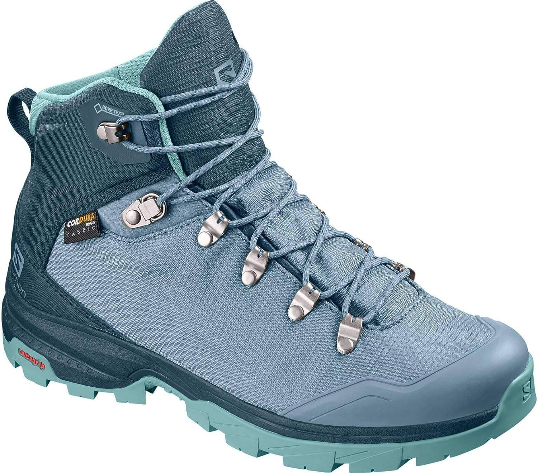 Salomon Outback 500 GTX Trail Laufschuh Damen blau, 4 UK - 36 2 3 EU - 5.5 US
