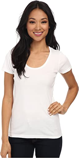Splendid - 1x1 Rib Scoop Tee