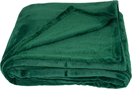Amazon.co.uk: Green - Throws / Blankets, Throws & Patchwork ...