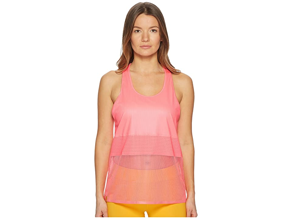 Monreal London Racer Tank Top (Ultra Pink) Women