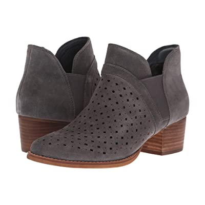 Earth Keren (Charcoal Grey Suede) Women