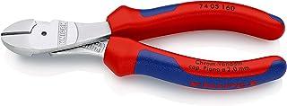 クニペックス KNIPEX 7405-160 強力型斜ニッパー(硬線用)