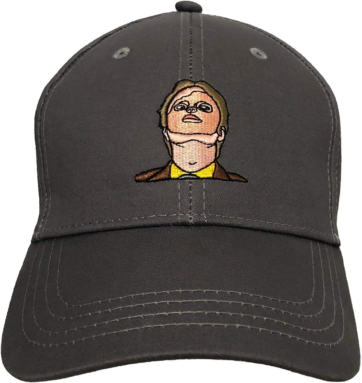 Balanced Co. Dwight Las Vegas Mall Schrute Mask Baseball Cap Rainn W 4 years warranty Adjustable