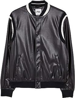 021c8b391 Amazon.com: zara leather jacket - Zara