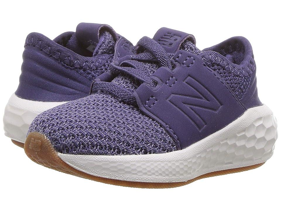New Balance Kids KVCRZv2I Nubuck (Infant/Toddler) (Wild Indigo/Deep Cosmic Sky) Girls Shoes