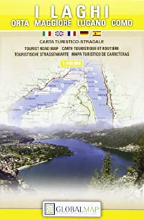 Italy, Northern Lakes (English, Spanish, French, Italian and German Edition)