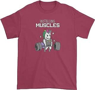 Best installing muscles unicorn shirt Reviews