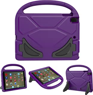 F i r e 7 2017/2015 Kids Case, Roasan Shockproof Protection Stable Stand Super Light Weight Durable Material New F i r e 7 inch Display (7th Gen /5th Gen) (Purple)