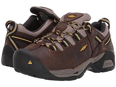 Keen Utility Detroit XT Int. Met Steel Toe (Cascade Brown/Goldenrod) Women