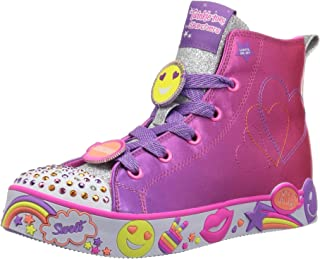 Skechers Kids' Happy Lites-Positive Princess Sneaker