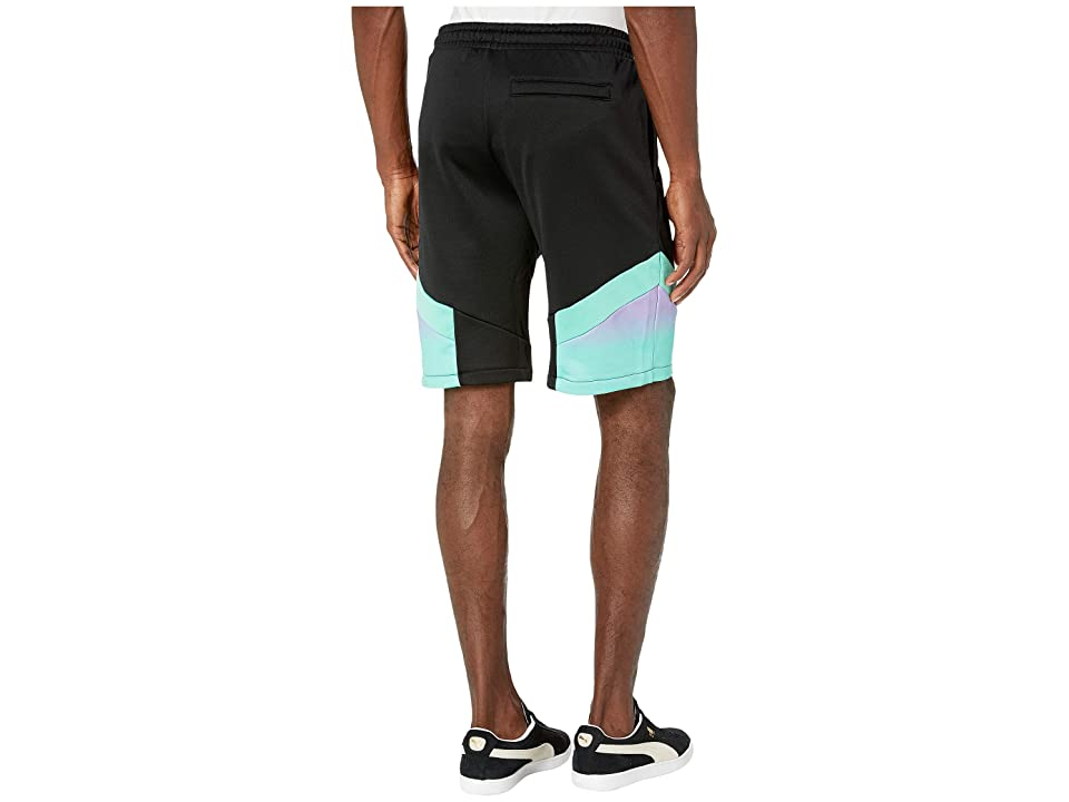 PUMA Puma X MTV MCS Shorts Allover Print (Puma Black/All Over Print) Men's Clothing