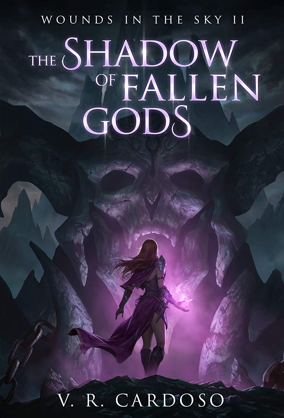 値邪悪なバケットThe Shadow Of Fallen Gods (Wounds in the Sky Book 2) (English Edition)