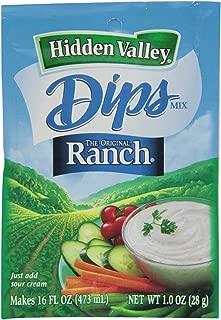 Hidden Valley the Original Ranch Dip Mix, 1 Ounce Packet (Pack of 6)