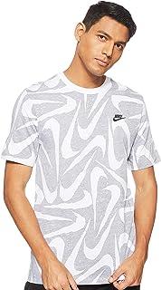 Nike Men's Hand Drawn Aop Short Sleeve T-Shirt, Black