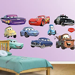 FATHEAD Cars: Collection-X-Large Officially Licensed Disney/Pixar Removable Wall Decal