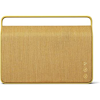 Vifa Copenhagen 2.0 Portable Wireless Loudspeaker with WiFi and Bluetooth Connection - Sand Yellow
