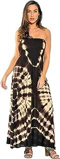 Riviera Sun Rasta Maxi Summer Dress for Women Long Sundress with Removable Straps