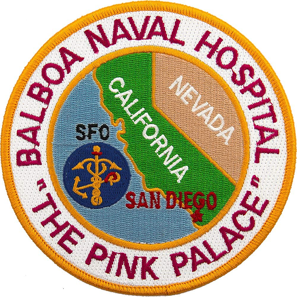 Naval Hospital Max 47% OFF Balboa Full Patch lowest price Color