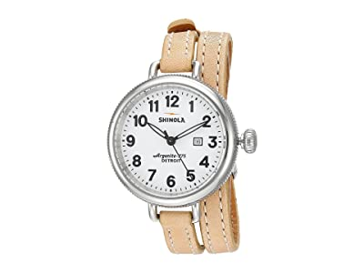 Shinola Detroit The Birdy 34mm 10000234 (White/Natural) Watches