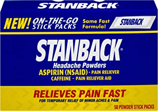 Stanback Headache Powders | 50 Count | Packaging May Vary