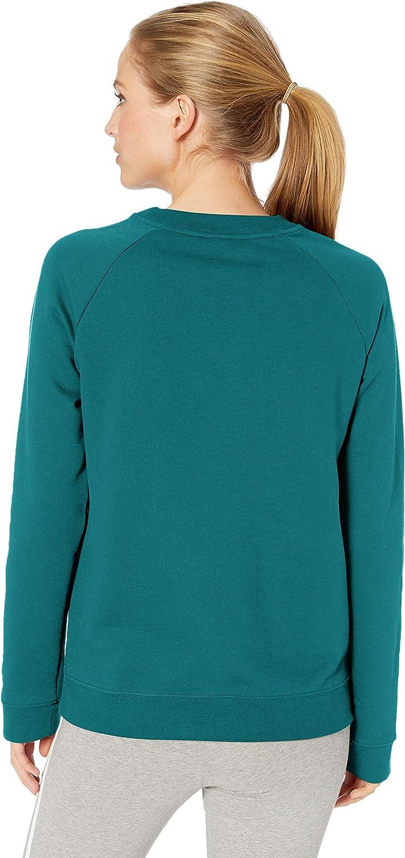 adidas Originals Sweat-shirt à col rond pour femme. Noble Green