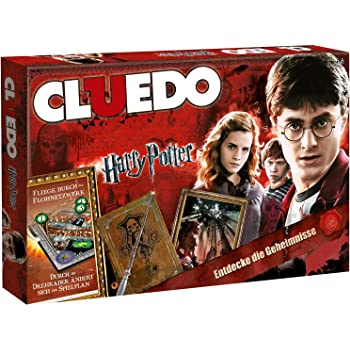Harry Potter Cluedo Board Game Classic Murder Mystery Family Party Game Gift UK