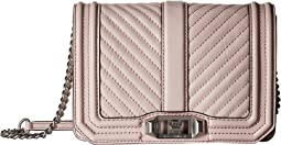 Rebecca Minkoff - Chevron Quilted Small Love Crossbody
