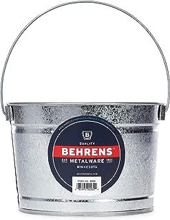 Behrens B325 Galvanized Steel Paint Pail, 2.5 Quart, Silver