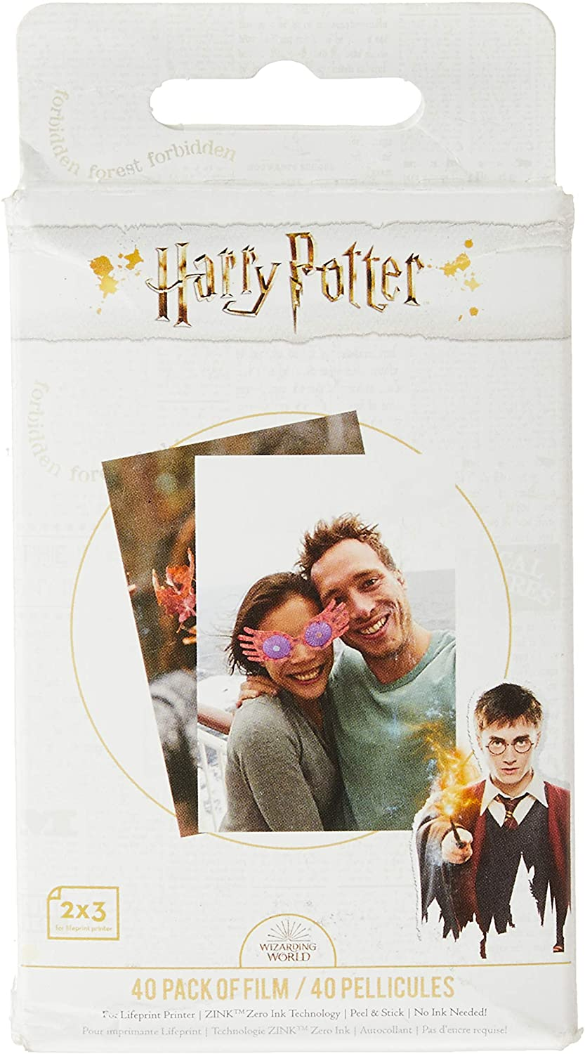 Lifeprint PH50 Harry Potter Magic Tampa Mall Spring new work Sticky and Video Printer Photo