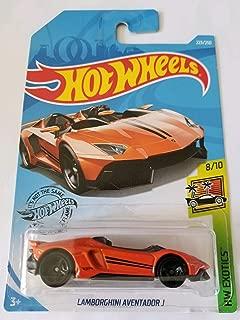 Hot Wheels 2019 Hw Exotics - Lamborghini Aventador J, Orange 223/250